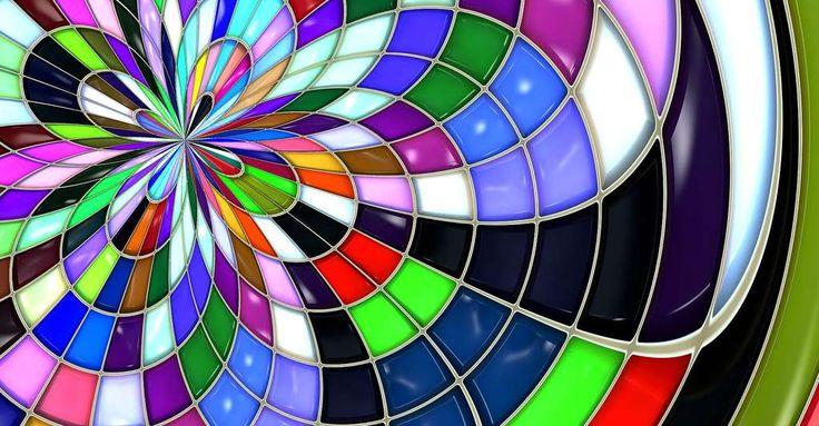 Qu'est-ce que la synthèse additive des couleurs ? Ici, une rosace de couleurs. © Geralt, CCO