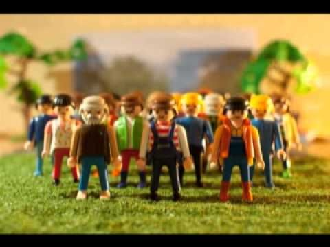 """""""Viktoria! Der Meister soll leben!"""" from Der Freischütz - sung by a Lego chorus!"""