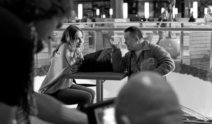 Na planie filmowym panowała radosna atmosfera, mimo że kręciliśmy spot przez całą noc fot. Maciej Plewiński