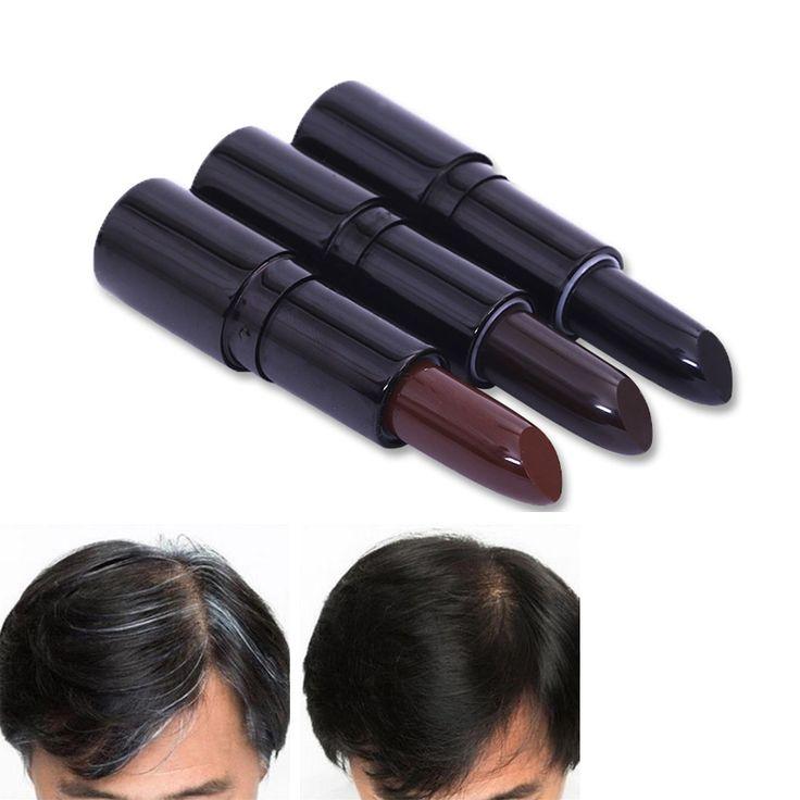 1 Pcs New Fashion Lipstik Bentuk Warna Rambut Krim Rambut Pewarna Rambut Kapur Rambut Styling Aksesoris # M02254
