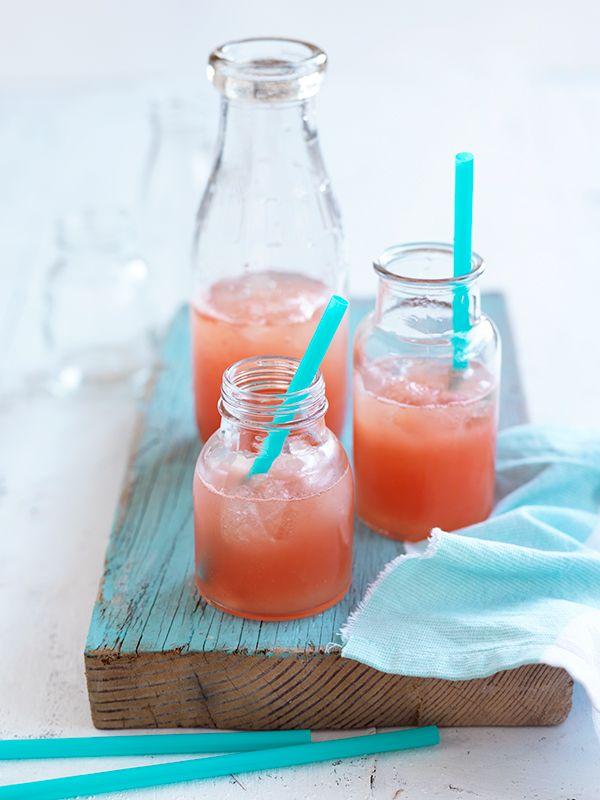 Pink Grapefruit Lemonade | The Ideas Kitchen