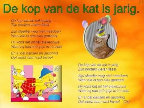 Kinderliedjes Jumper De diersuper - Kinderliedje De kop van de kat is jarig - YouTube