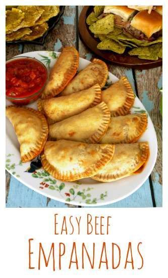 Beef Empanadas are easy to make and are a great addition to any tapas or party menu. | http://KitchenDreaming.com |