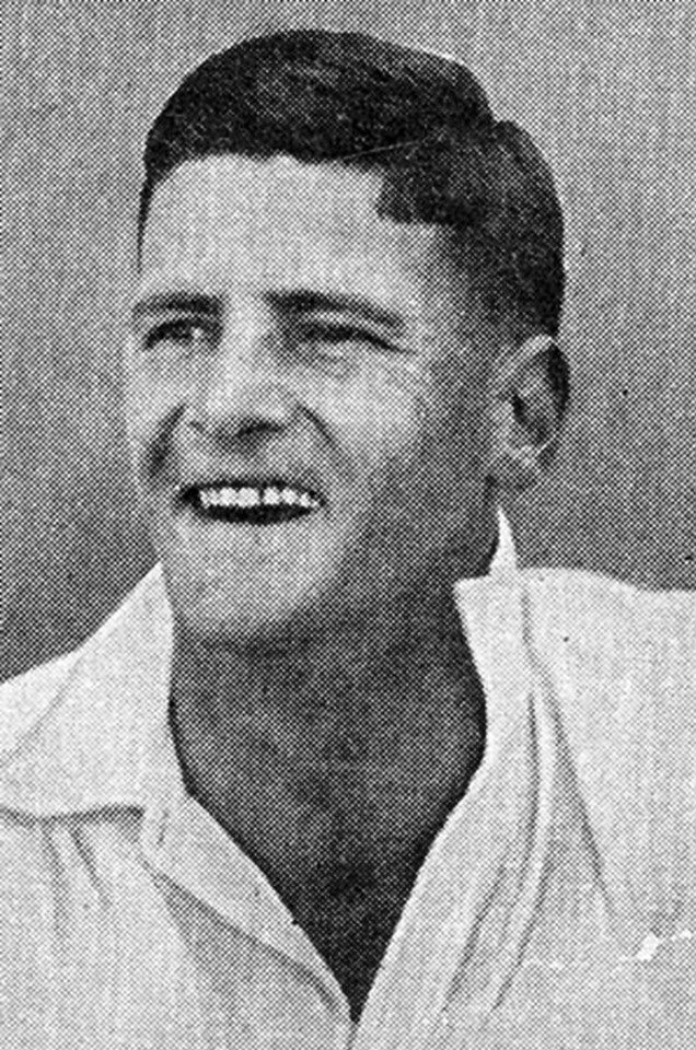 "153-Leslie O'Brien ""Chuck"" Fleetwood-Smith played in 10 Tests. He was the ""wayward genius"" of Australian cricket during the 1930s, a slow bowler who could spin the ball harder and further than his contemporaries, although his career suffered from a lack of self-discipline and the presence of Bill O'Reilly and Clarrie Grimmett. After his playing days finished, he succumbed to alcoholism and spent many years homeless on the streets of Melbourne."