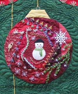 Quilt ornaments on pinterest yellow roses design and christmas