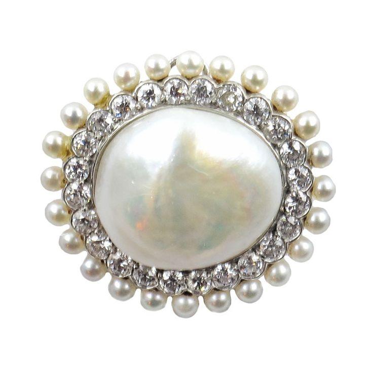 Mark Stewart Black Diamond: Best 25+ Pearl Brooch Ideas On Pinterest