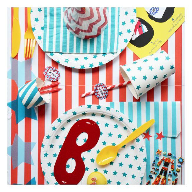 62 best anniversaire super h ros images on pinterest - Kit anniversaire super heros ...