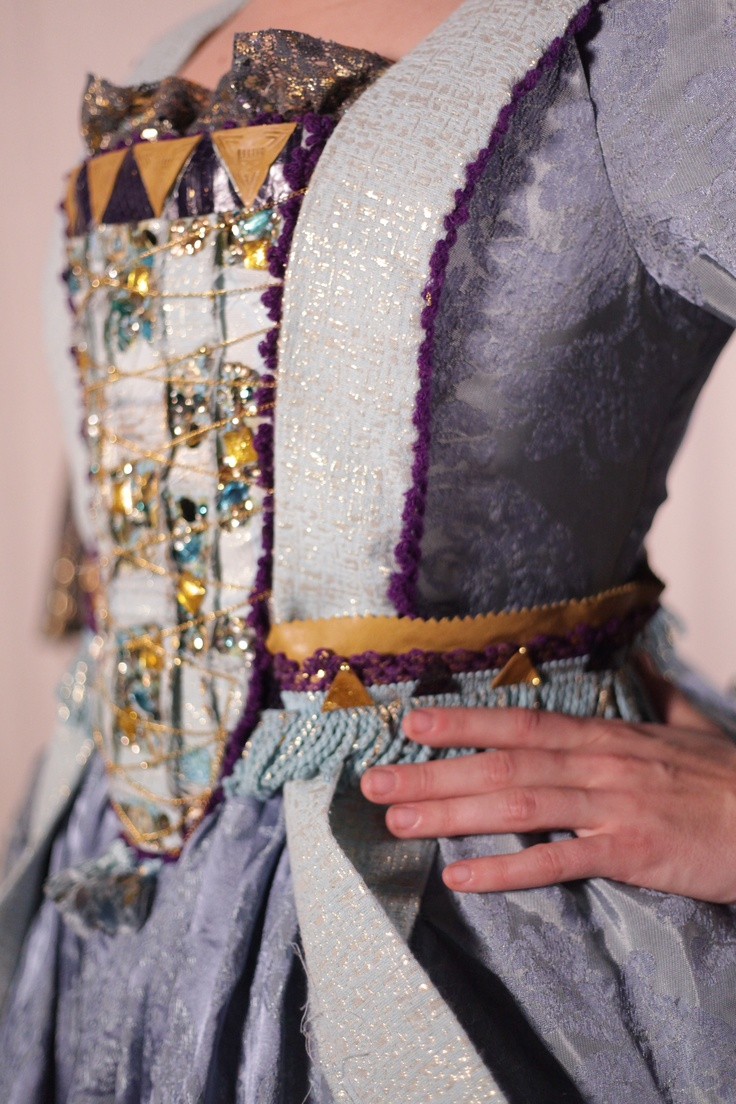 Detail of Fame opera costume Designed and created by Monica Smith.