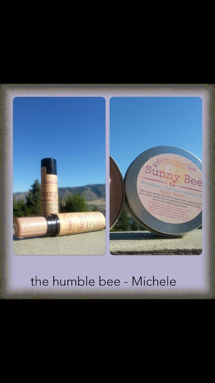 Sunny bee cream and Stick SPF 30