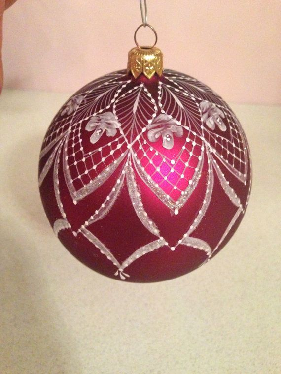 Hey, I found this really awesome Etsy listing at http://www.etsy.com/listing/161056337/hand-painted-lace-ornament-12inch