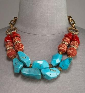 Stephen Dweck Necklace | Stephen Dweck Two-Strand Necklace - Best of Spring Jewelry 2009