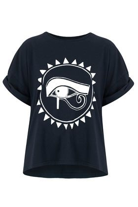 **Horus Boyfriend T-Shirt by Illustrated People