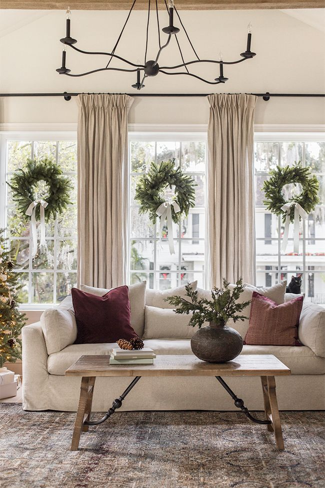 Heights House Christmas Living Rooms Home Decor Home Living Room