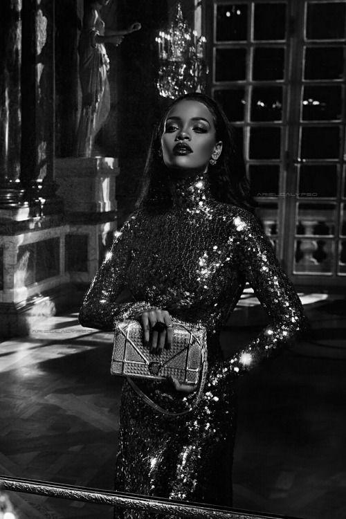 Rihanna ph Steven Klein for Dior Secret Garden, 2015