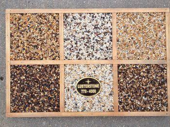 LusterStone Pebble Paving | (402) 779-4000 | Omaha, NE | Concrete Resurfacing | Concrete Repair | Entryway Repair | Driveway Resurfacing | Patio Resurfacing & Repair | Lusterstone Homepage Omaha, NE