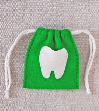 Molly's Sketchbook: Tooth FairyBags - Knitting Crochet Sewing Crafts Patterns and Ideas! - the purl bee