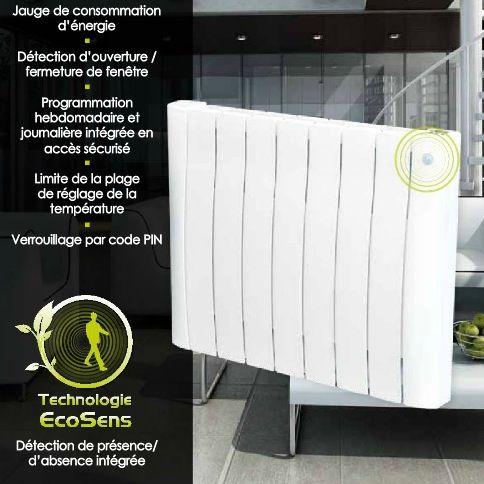 radiateur electrique radiateur inertie fluide ou pierre statite en aluminium lectronique digitale avec