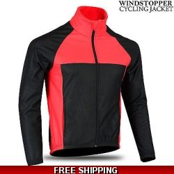 mens cycling fleece jac..