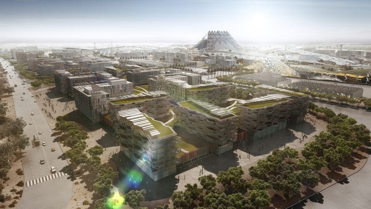 Gallery of Dubai Wins World Expo 2020 Bid with HOK-Designed Master Plan - 7                                                                                                                                                     More