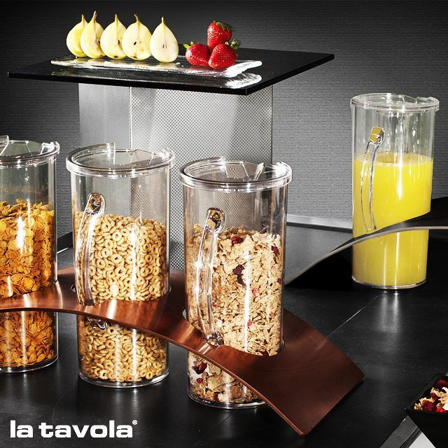 58 best cereal dispenser images on pinterest cereal dispenser rainbow jug holder and transparent cereal jugs a great way to organise ccuart Images