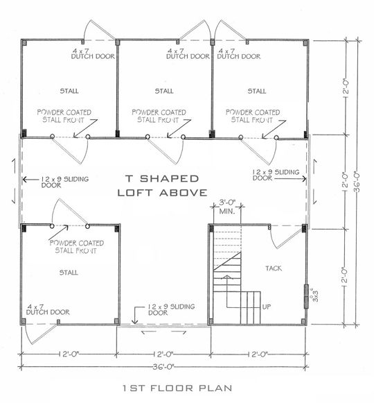 Floor plan this is what i want barn arena for Horse barn layouts floor plans