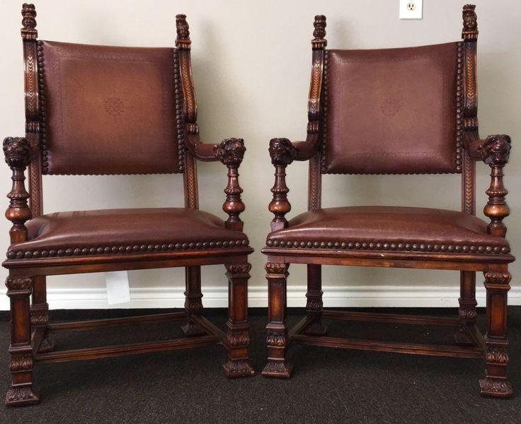 Rare Pair Of Theodore Alexander Throne  Chairs    eBay