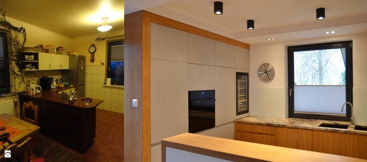 Metamorfoza wnętrza - zdjęcie od BIG IDEA studio projektowe - Kuchnia - Styl Minimalistyczny - BIG IDEA studio projektowe