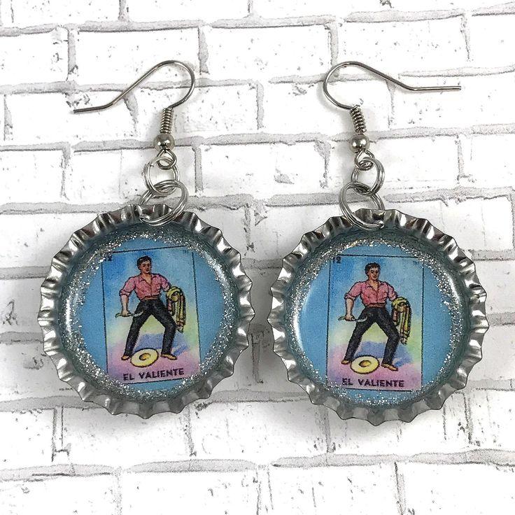 A personal favorite from my Etsy shop https://www.etsy.com/listing/551402751/loteria-earrings-el-valiente-earrings