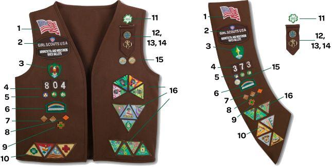 die besten 25 m dchen scout abzeichen platzierung ideen