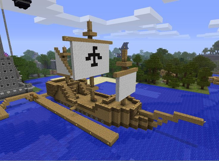 minecraft how to build a boat that works