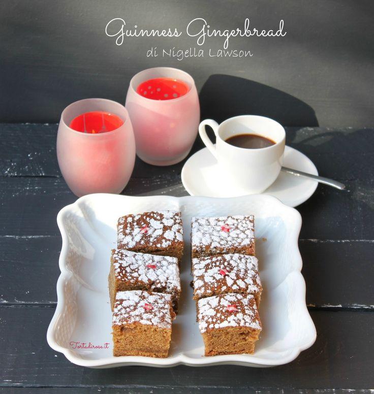 Guinness gingerbread cake/Torta di Pan di zenzero alla Guinness