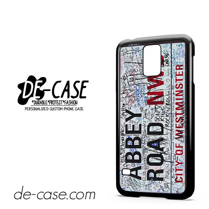 Abbey Road Street Sign For Samsung Galaxy S5 Case Phone Case Gift Present YO