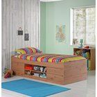 Buy HOME Detachable Single Bunk Bed Frame with Storage - Pine at Argos.co.uk, visit Argos.co.uk to shop online for Children's beds, Children's furniture, Home and garden