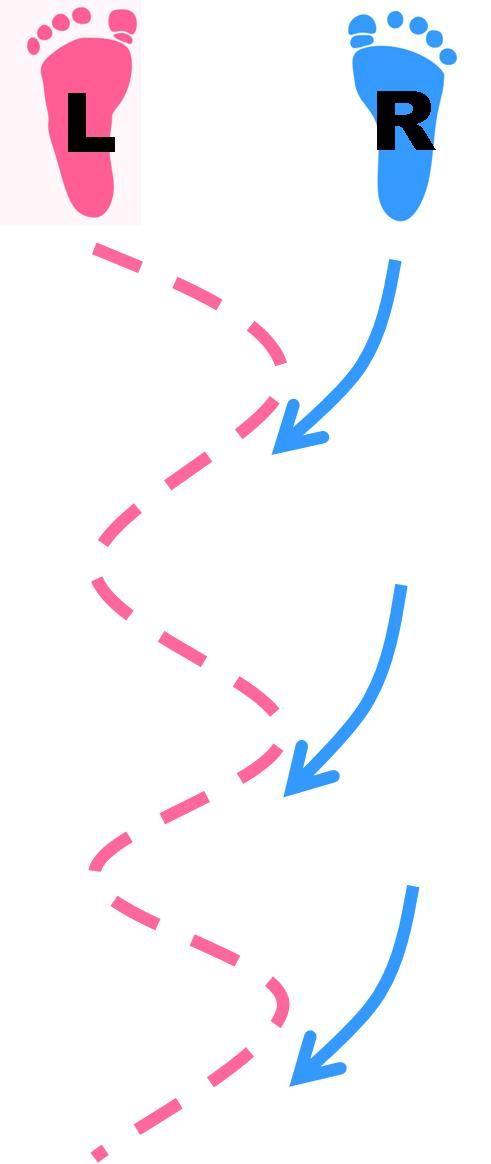Backwards Crossovers Diagram // Blockodile Dundee