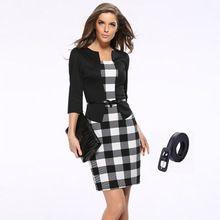 Herfst jurk vrouwen bodycon jurk fall kantoor jurken voor vrouwen kleding…