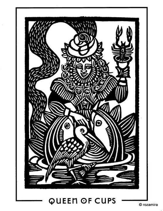 Light and Shadow Tarot (Contrast deck) - Rozamira Tarot - Веб-альбомы Picasa