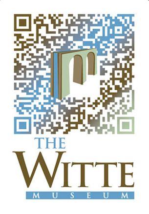Building bridges: QR code design for the Witte Museum.