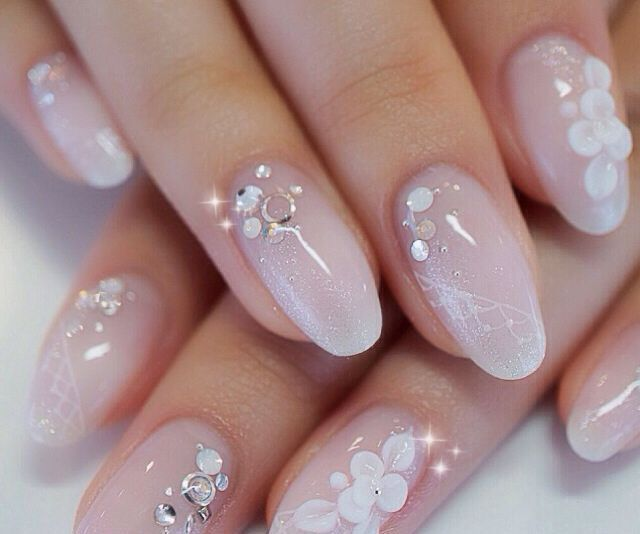 26 Impossible Japanese Nail Art Designs: 26 Best Bridal Nails Images On Pinterest