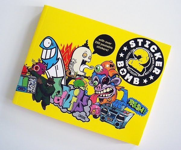 280 specially-commissioned stickers by artists, illustrators, and graffiti writers from around the world. http://amzn.to/OOa6ew $16.47