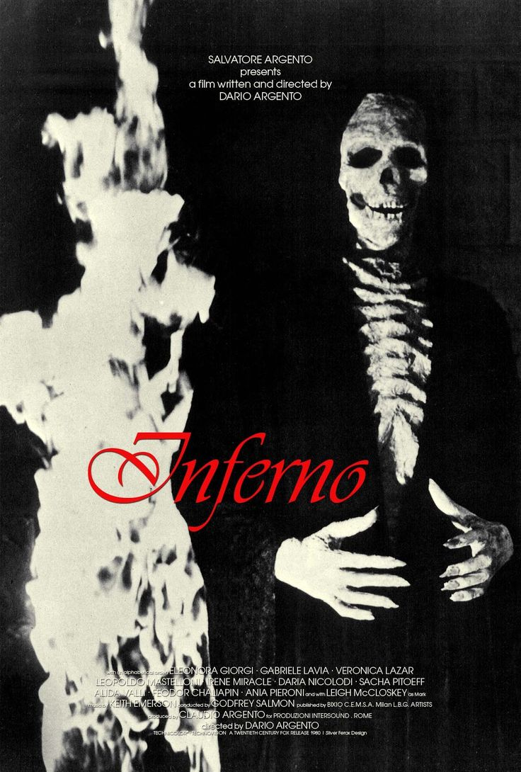 Silver Ferox Design: Dario Argento's Inferno