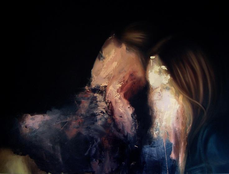 "Saatchi Online Artist: Jesùs Leguizamo; Oil, 2012, Painting ""The Night"""