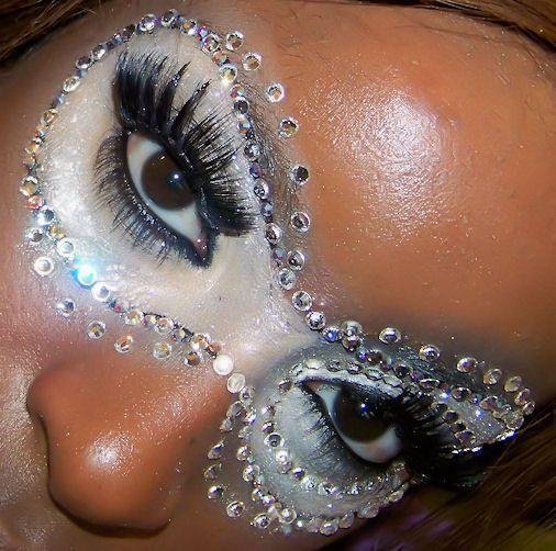 Grime voor gemaskerd bal - Bal Masque