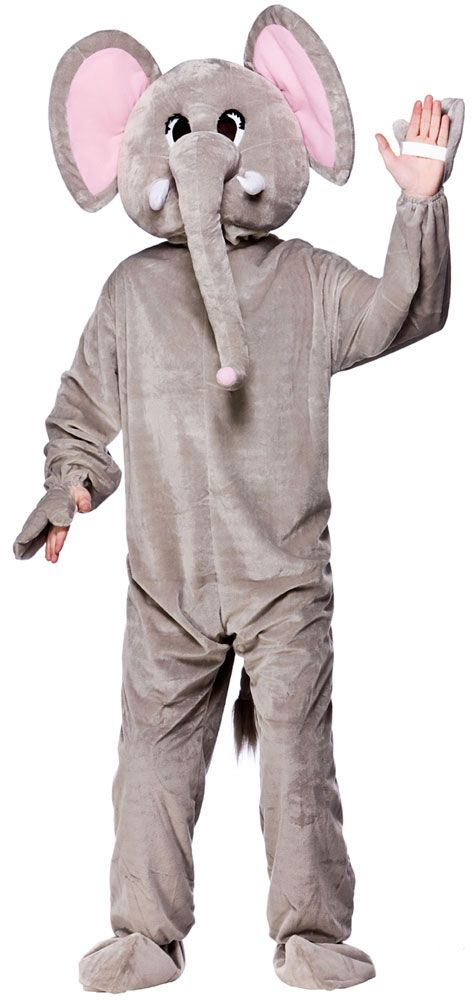 Paradise Elephant Costume | Storybook Animal Fancy Dress | Mega Fancy Dress