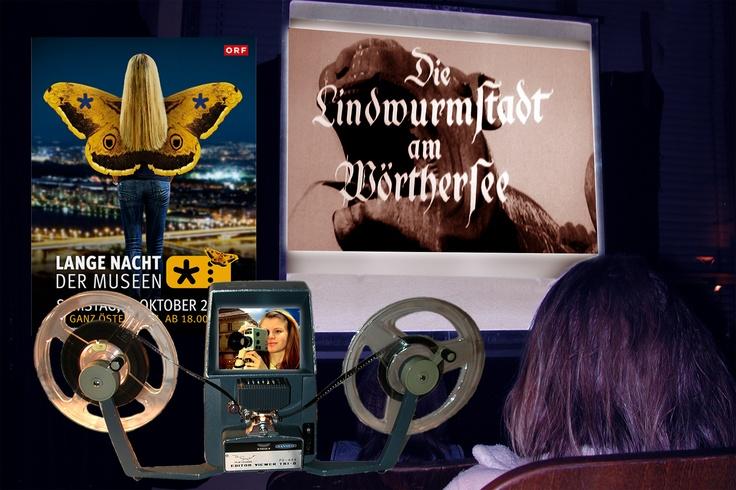 Zur Im Rahmen der Langen Nacht der Museen am 6. Oktober 2011 von 18.00 - 01.00 Uhr zeigen wir im Kinomuseum Filme, die in der Landeshauptstadt gedreht wurden.     Aber auch zahlreiche Dokumentationen wurden hier produziert, bei uns können sie einen Klagenfurt-Film von Josef Friedrich Perkonig sehen.    Als Serviceleistung werden wir für die Besucher Sichtgeräte für die Formate 16mm, Normal-8 und Super-8 aufbauen.    http://www.kinogeschichte.at/ausstellung_2012.htm#LNdM