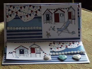 handmade card, Hobby House Topper, New England