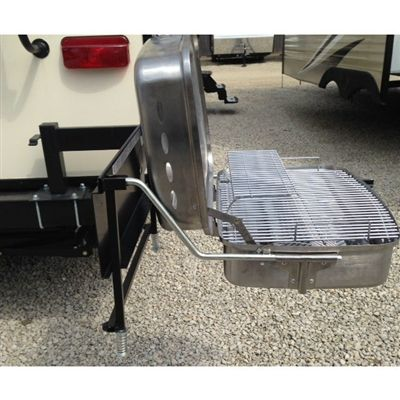 Bumper Grill Arm Assembly New 14 Gauge Black Steel Bumper