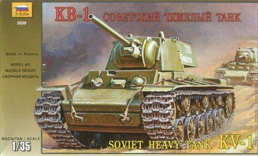 Maquette - KV-1 Soviet Heavy Tank - Zvezda 3539