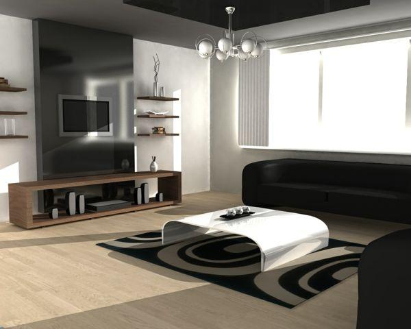 59 best images about wohnzimmer on pinterest | fireplaces ... - Designer Wohnzimmer Schwarz