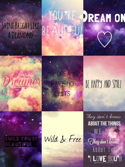 Colorful Galaxy Quotes Tumblr (page 2) - Pics about space