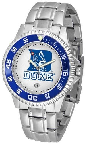 Duke University Blue Devils Men's Stainless Steel Watch